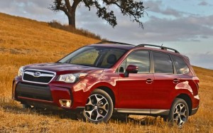 Subaru Forester, Consumer Reports' top rated car for 2014